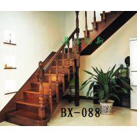实木楼梯什么颜色好看【普洛瑞斯】帮您打造温馨复式阁楼