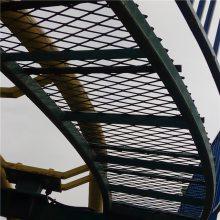 重型机械防护罩用钢板网 平台脚踏网 外墙架管建筑钢笆片
