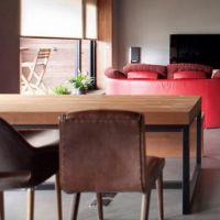 新品推荐 乡村复古风实木餐桌 会议办公桌 海德利做旧铁艺桌定制