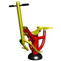 健骑机 联盛尔 世纪系列健骑机健身器材 货号LSR-01材质钢