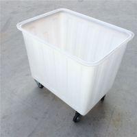 杭州 300L带轮子落纱桶染布桶 推布车垃圾车带轱辘箱子多种型号