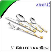 专业生产不锈钢刀叉餐具礼品西餐刀叉可订做 可印logo