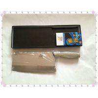 菜刀厂家直销高品质菜刀 银龙全钢柄厨片刀 不锈钢刀