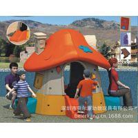 幼儿园儿童角色游戏快乐蘑菇小房子