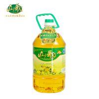山歌压榨一级花生油5L 非转基因物理压榨过滤纯正浓香优质花生油