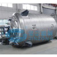 1500L外盘管加热反应釜SUS304不锈钢化工机械化工反应釜设备
