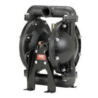 原装美国ARO 英格索兰气动隔膜泵 型号666120-3EB-C 1寸铝合金属气动隔膜泵
