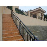 Q195山西省晋中市锌钢楼梯扶手、锌合金楼梯栏杆、热镀锌楼梯护栏,锌钢护栏