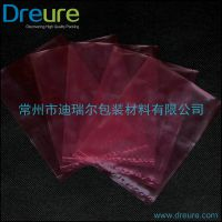 常州工厂食品级包装袋30*35cm,红色PE袋,抗静电专用包装