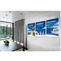 专业定制 办公室励志标语挂画企业文化墙装饰画 走廊无框壁画