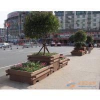 供应户外HUX002园林组合木花箱,景观防腐木花箱,仿木花箱