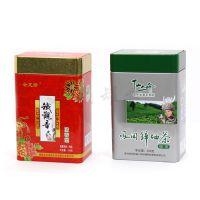 精选茶叶金属铁罐 清香型铁观音茶叶铁盒 方形绿茶铁盒供应商