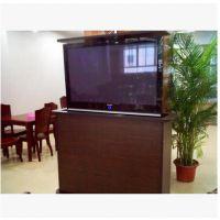 品牌直销晶固40/45/55寸液晶电视电动桌面智能升降器/电视隐藏式升降台架