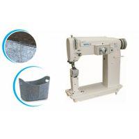 TPET立柱曲折缝,人字车,收纳盒专用立柱曲折缝纫机