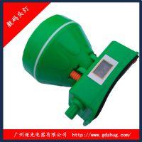 广东塑料头灯厂家 批发强光LED头灯 可调光 带电量显示功能 12W 逐光8801
