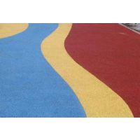 中城筑景彩色透水混凝土透水地坪艺术地坪的工程实例