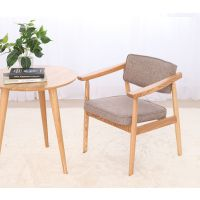 多功能餐厅餐椅 简约靠背椅子 纯实木扶手椅子厂家直销