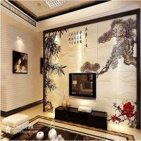新款推出平面/浮雕立体电视背景墙制作设备 UV万能打印机生产厂家