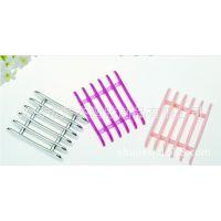 美甲工具5格笔架 办公用品 指甲砂条锉条架亚克力塑料光疗