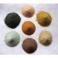 厂家直销 天然砂、染色砂、烧结砂 石家庄彩砂