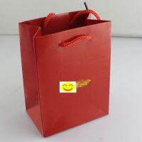 钛钢饰品批发 黑白红橙色手提袋各种礼品手提袋 纸袋 首饰礼品袋