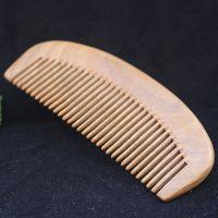 大量批发绿檀木梳子 仙游厂家直销 木质工艺梳子 按摩梳子批发