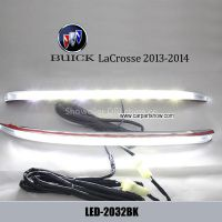 Buick LaCrosse 2013-2014 DRL LED Daytime Running Lights Car headlight parts Fog lamp cover