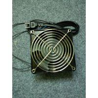12cm 220V 12038含油带双网带线 网络机柜工控机箱工业风扇散热器现货