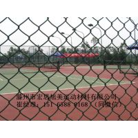 滨州塑胶篮球场围栏围网护网价格施工价格