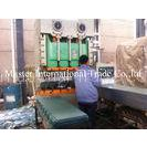 Sand Blasting Stone Coated Metal Roofing Roll Forming Machine 113kw 15T