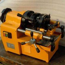江苏常州电动套丝机 小型管子套丝机价格