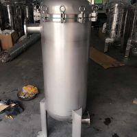 316材质葡萄酒、白酒过滤酒槽杂质的袋式过滤器ф400x810x2袋 深圳过滤器厂家