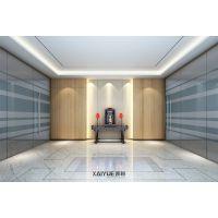 简约装修风格办公室 广州增城安建公司办公室装修效果图