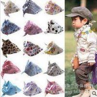 韩版儿童口水巾单独包装 BAPE纯棉宝宝猿人头围嘴头巾