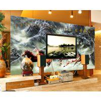 河北保定瓷砖彩绘机 玻璃印花机 背景墙印花机水晶壁画