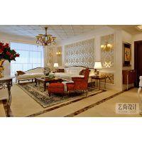 昌建誉峰三室两厅120平方现代简欧风格装修效果图
