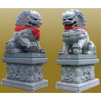 坚美花岗岩雕刻(在线咨询)_石狮子_供应石狮子