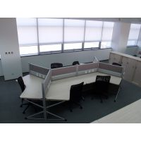 天津办公家具屏风 员工桌职员办公桌椅4/6/8人 办公电脑桌员 工卡位