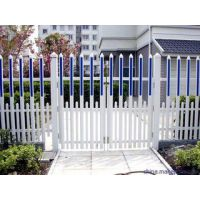 hysw 草坪绿化带隔离热镀锌护栏批发小区白色PVC园艺草坪护栏