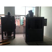供应出品开孔器专用转台式 自动喷砂机 打砂机 温州喷砂机