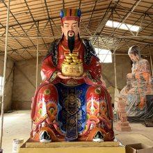 河南云峰佛像雕塑厂批发订做 武财神关公 关圣帝君佛像神像