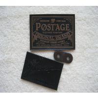 厂家定做高档优质皮标 皮牌 仿真皮标 皮革标 PU皮标 手套标