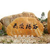 百石汇大量批发浙江黄腊石,黄色园林石 园林假山石批发 驳岸石材