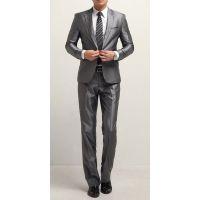 西服套装男士韩版修身休闲西装职业装正装新郎结婚礼服
