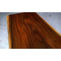 非洲菠萝格实木大板办公桌原木家具红木板商务会议桌简约茶台现货