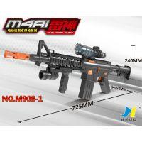 锦明908-1电动水弹枪连发水弹枪m4A1冲锋枪可发射子弹cs游戏枪