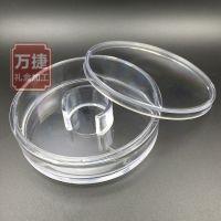 厂家订做透明亚克力塑料圆盒 天地盖佛珠手链首饰包装盒子批发