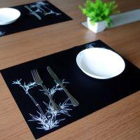 防水易清洗硅胶西餐垫 防滑隔热杯碗餐桌垫
