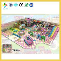 岳阳室内儿童淘气堡场地预算|君山商场儿童游乐园效果图设计