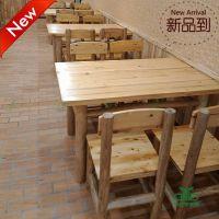 【优惠促销】深圳茶餐厅桌椅 快餐厅餐桌定制 中式餐厅实木餐桌椅 运达来